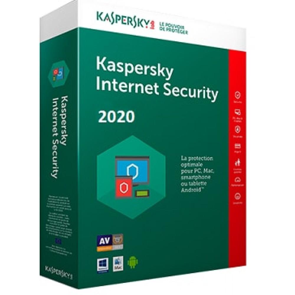 Касперски Интернет Секюрити 2020 2PC 1Y