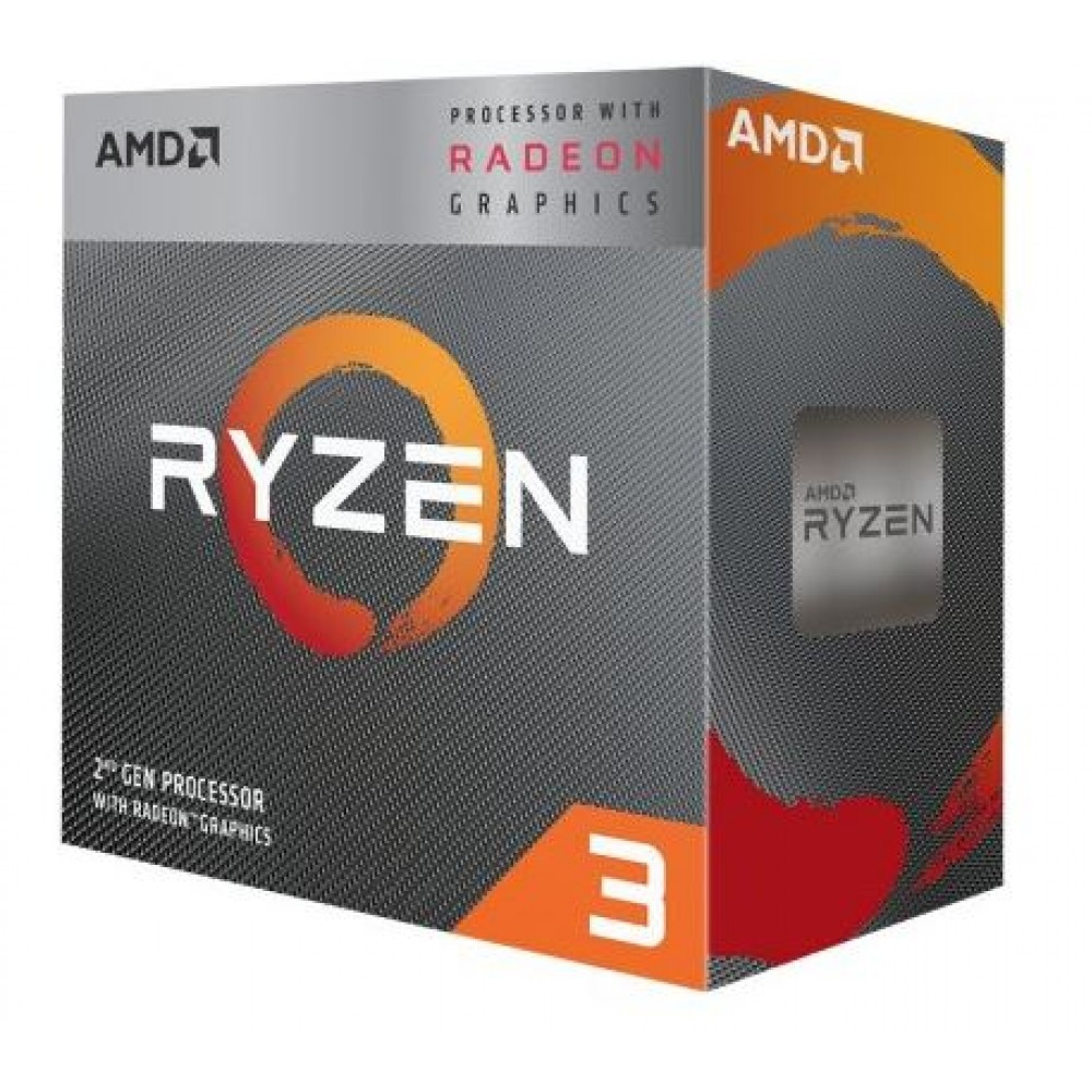 AMD CPU Desktop Ryzen 3 4C/4T 3200G box