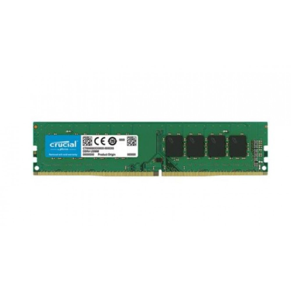 Crucial DRAM 8GB DDR4 2666 MT/s (PC4-21300) CL19 SR x8 Unbuffered DIMM 288pin