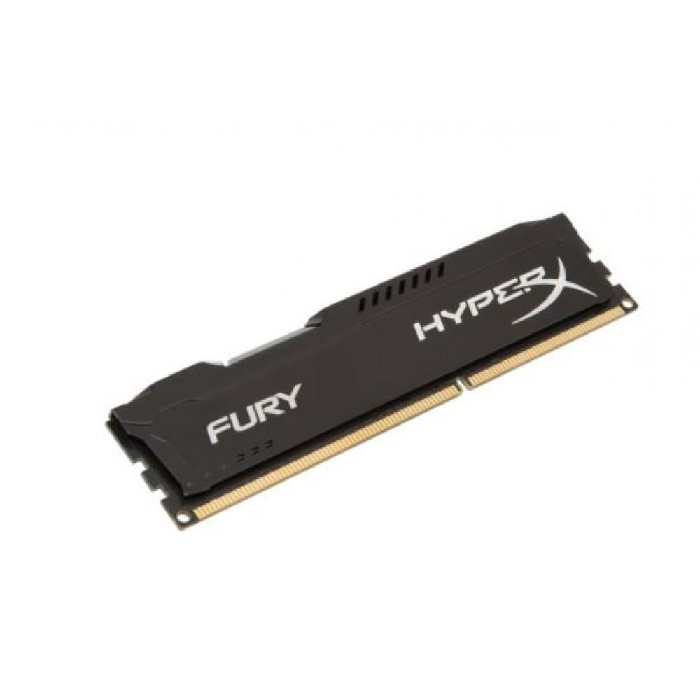 Kingston 4GB 1600MHz DDR3 CL10 DIMM HyperX FURY Black