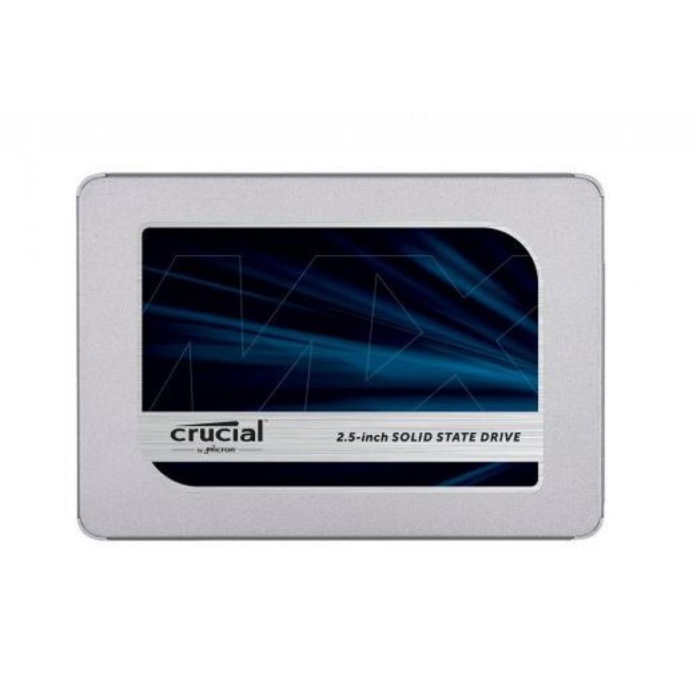 """1000 GB CRUCIAL MX500 SSD, 2.5"""" 3D TLC NAND 360TBW 560/510 MB/s"""