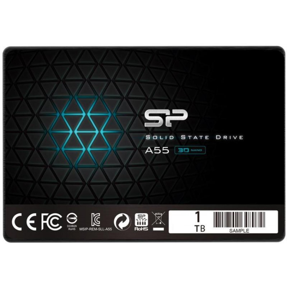 "1TB SSD SILICON POWER 2.5"" SATA  НОВ"