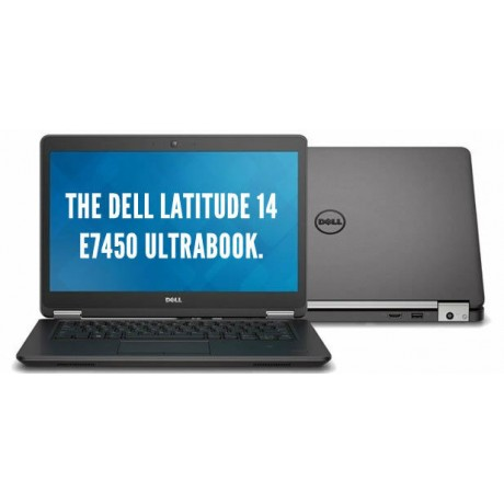 Dell Latitude E7450 с процесор i5 5300U, 8GB DDR3, 256GB SSD, 14'' FHD Touch, GeForce 840M