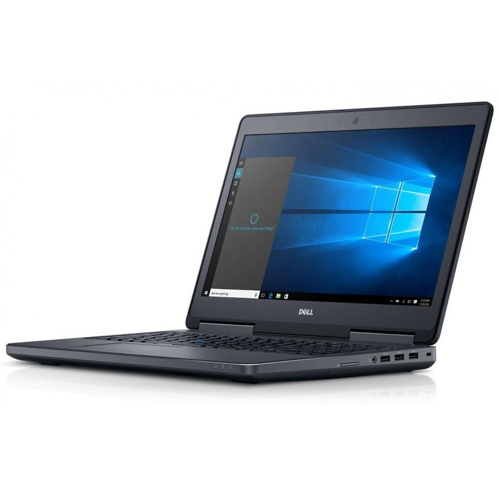 Dell Precision 7510 с процесор i7 - 6820HQ, 16GB DDR4, 512GB SSD, 15.6''FHD, Quadro M1000M