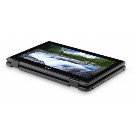 Dell Latitude 3190 2-in-1 с процесор Pentium Silver N5000, 4GB DDR4, 128GB SSD, 11.6'HD Тъч, клас А