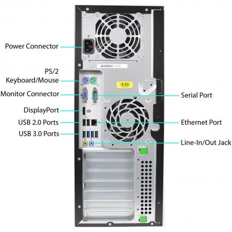 HP 8300 Elite Процесор i3, 4GB DDR3, 500GB HDD + GT710 2GB