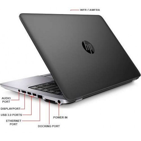 HP EliteBook 840 G1 с процесор Intel Core i7, 4GB DDR3, 180GB SSD, 14''