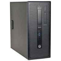 HP Elitedesk 800 G1 с процесор Intel Core i7,  16GB DDR3, 128GB SSD + 500GB HDD