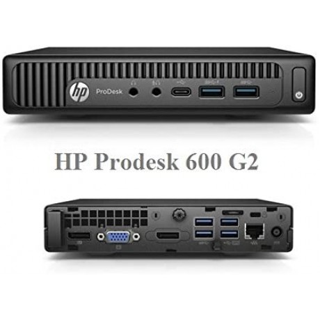 HP Prodesk 600 G2 Mini с процесор Intel i3 - 6100T; 8GB DDR4; 128GB SSD