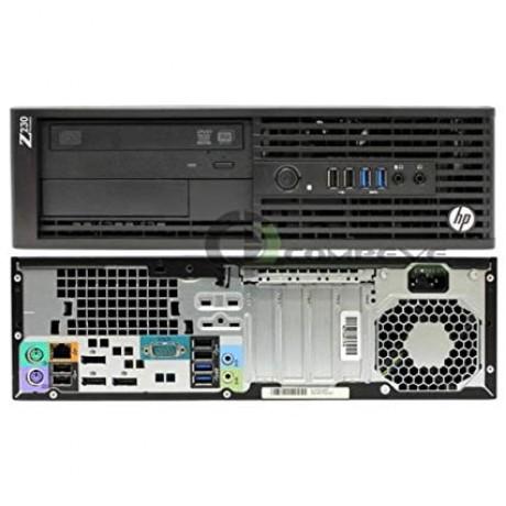 HP Z230 SFF с процесор E3 -1245 v3, 8GB DDR3, 256SSD, Quadro K620