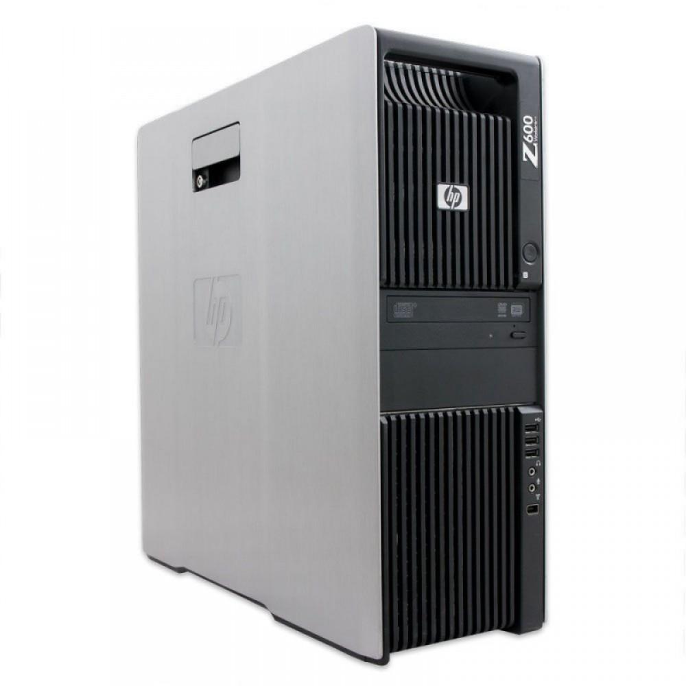HP Z600 с процесор 2 x Xeon E5504, 16GB DDR3, 2x160 GB Raptor, Quadro NVS295