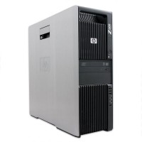 HP Z600 с процесор 2 x Xeon X5650, 16GB DDR3, 2x160 GB Raptor, Quadro NVS295