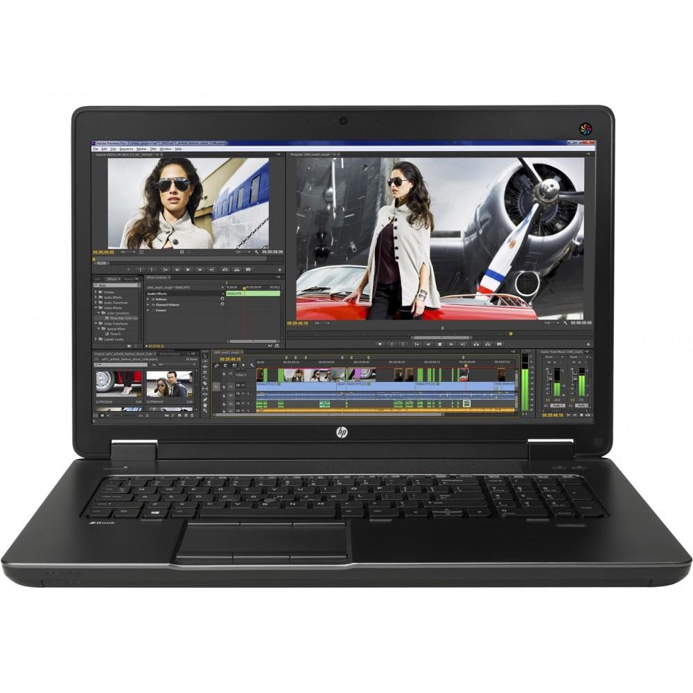 HP Zbook 17 G2 с процесор i7 - 4810MQ, 16GB DDR3, 128GB SSD, Quadro K1100M, 17.3'' FHD