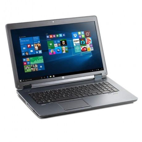 HP Zbook 17 G2 с процесор Intel i7 - 4810MQ, 16GB DDR3, 256GB SSD + 1TB HDD, Quadro K3100M, 17.3''