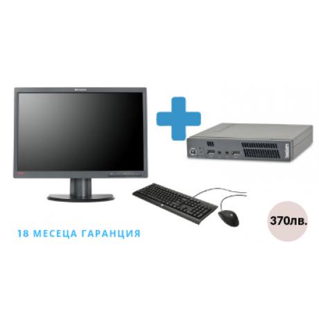Lenovo ThinkCentre M72e + Lenovo LT2252p + Клавиатура + Мишка