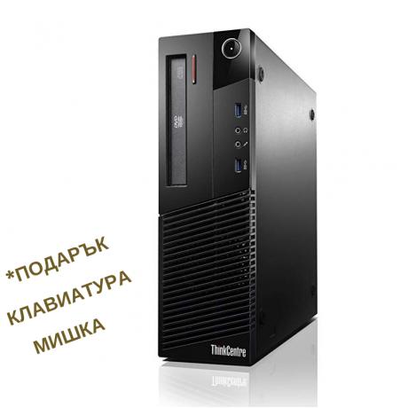 Lenovo ThinkCentre M83 с процесор Intel Core i5, 4096MB DDR3,128GB SSD