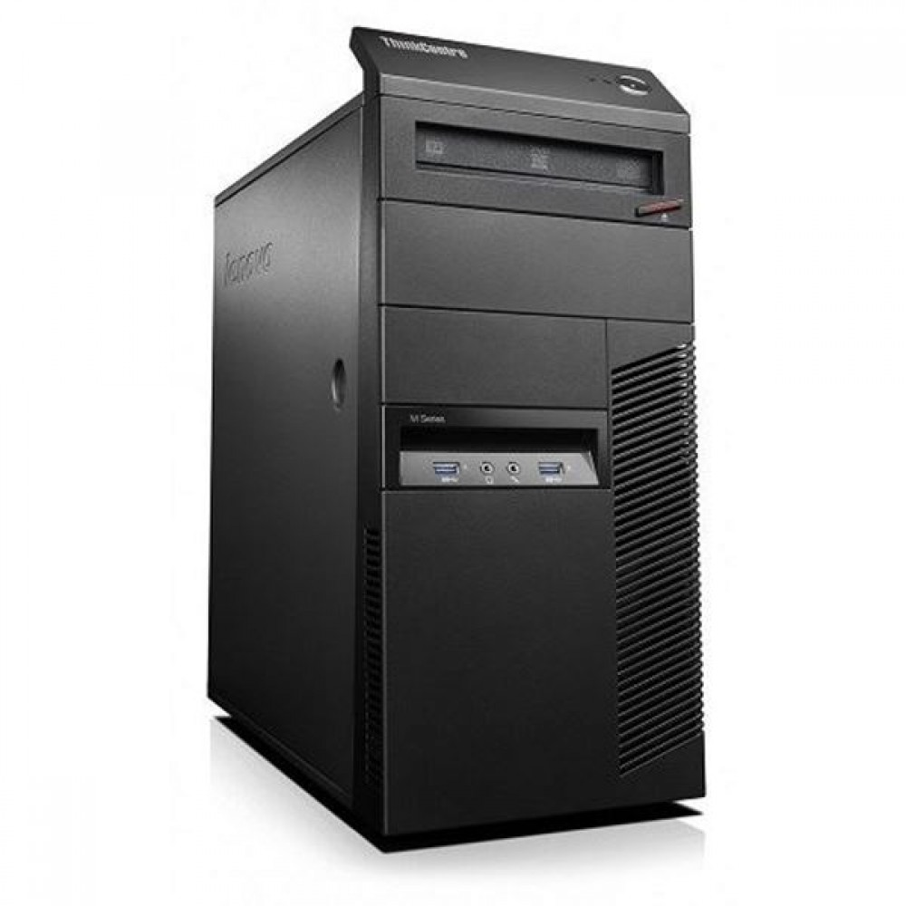 Lenovo ThinkCentre M83 Tower с процесор G3220, 8GB DDR3, 128GB SSD