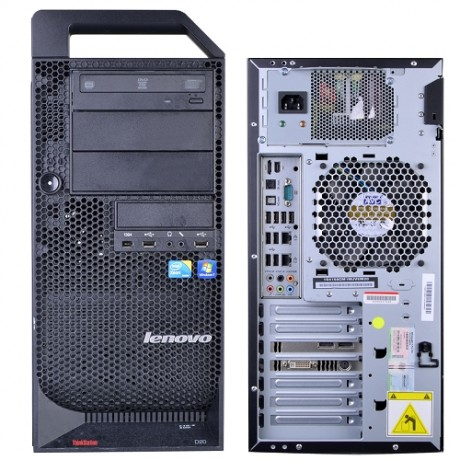 Lenovo ThinkStation S20 с процесор Xeon W3550, 12GB DDR3, 250GB HDD, Quadro NVS300